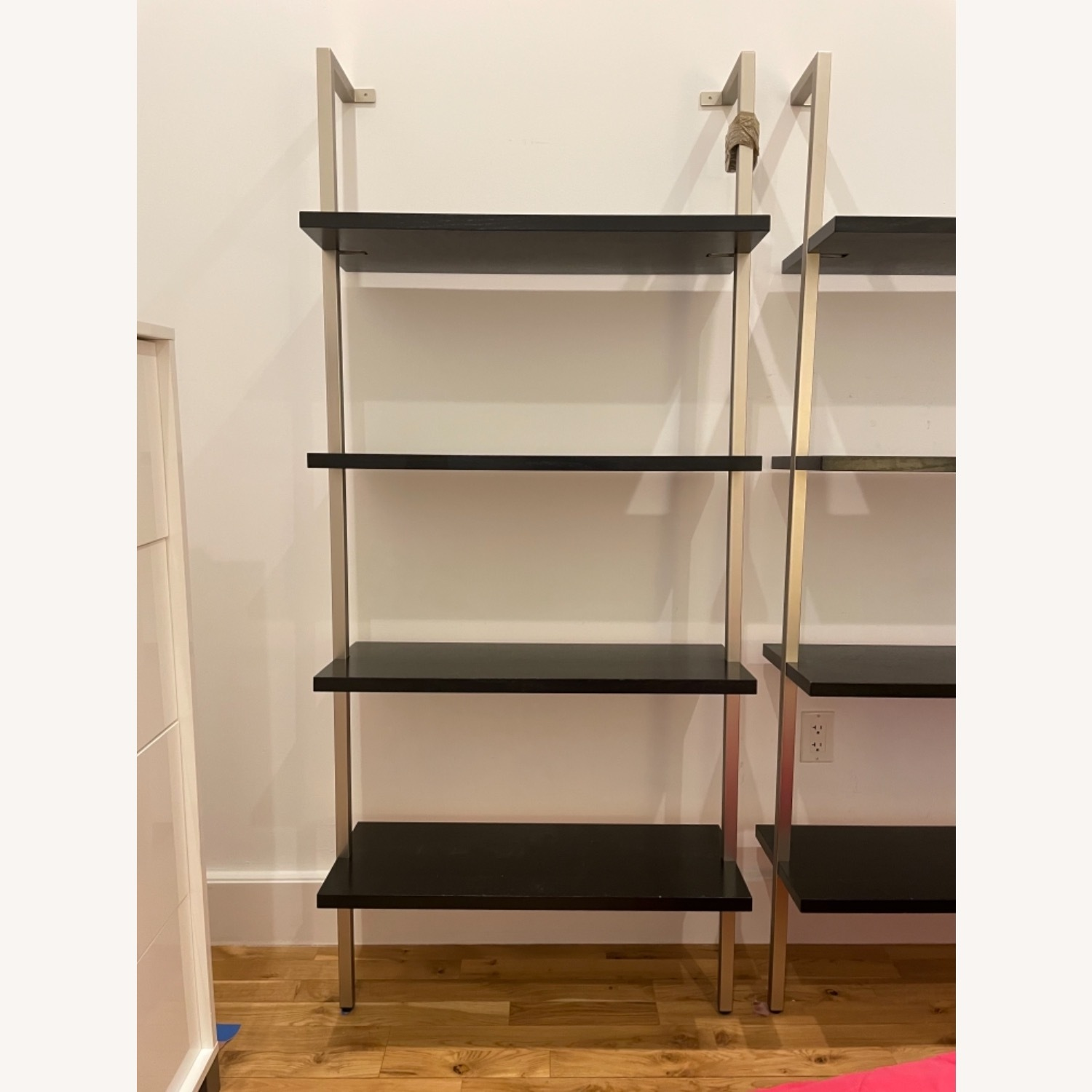 Stairway Style Desk and 2 Bookshelf Units - image-2