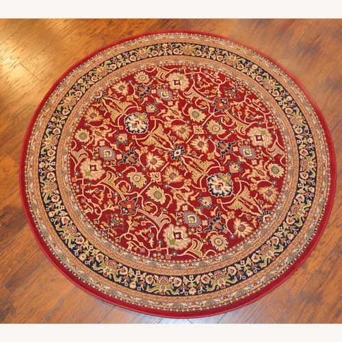 Used Dynasty Persian Style Rug (Round 5'3'') for sale on AptDeco
