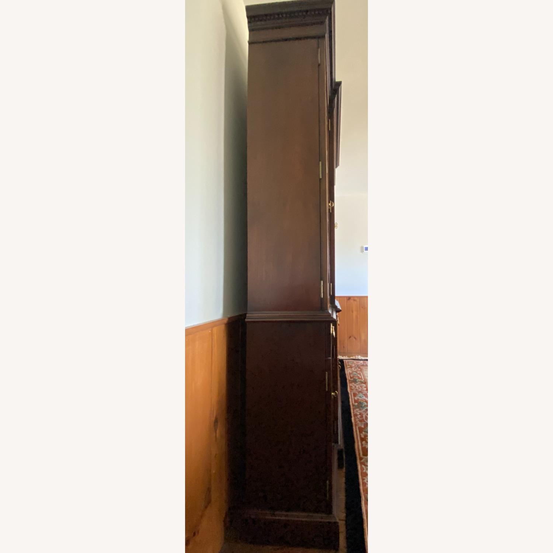 Councill Inlaid Mahogany Breakfront China Cabinet - image-16