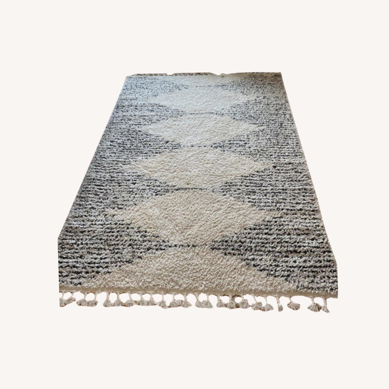 Moroccan Style Shag Area Rug - image-0