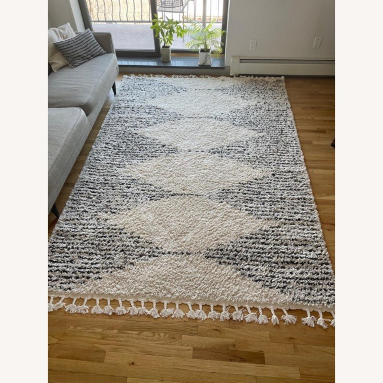 Moroccan Style Shag Area Rug - image-1