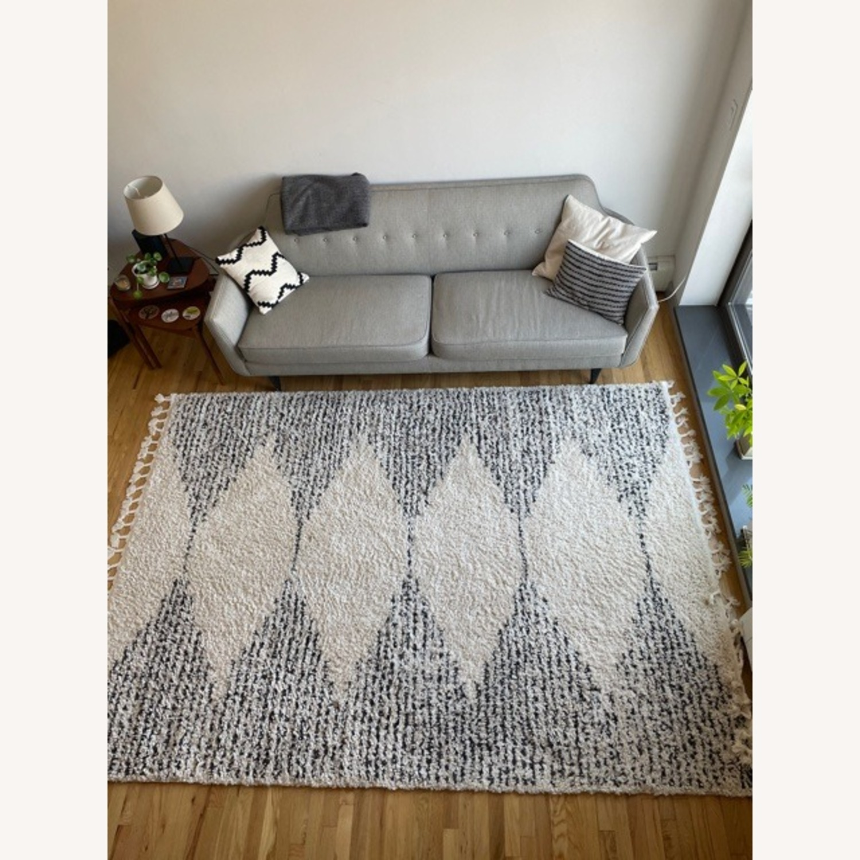 Moroccan Style Shag Area Rug - image-2