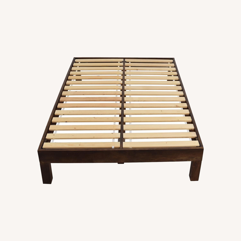 West Elm Boerum Full Bed Frame - image-0