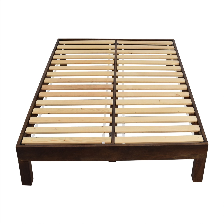 West Elm Boerum Full Bed Frame - image-1