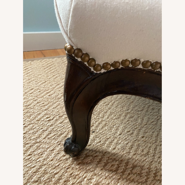 Vintage Wingback Armchair - image-4