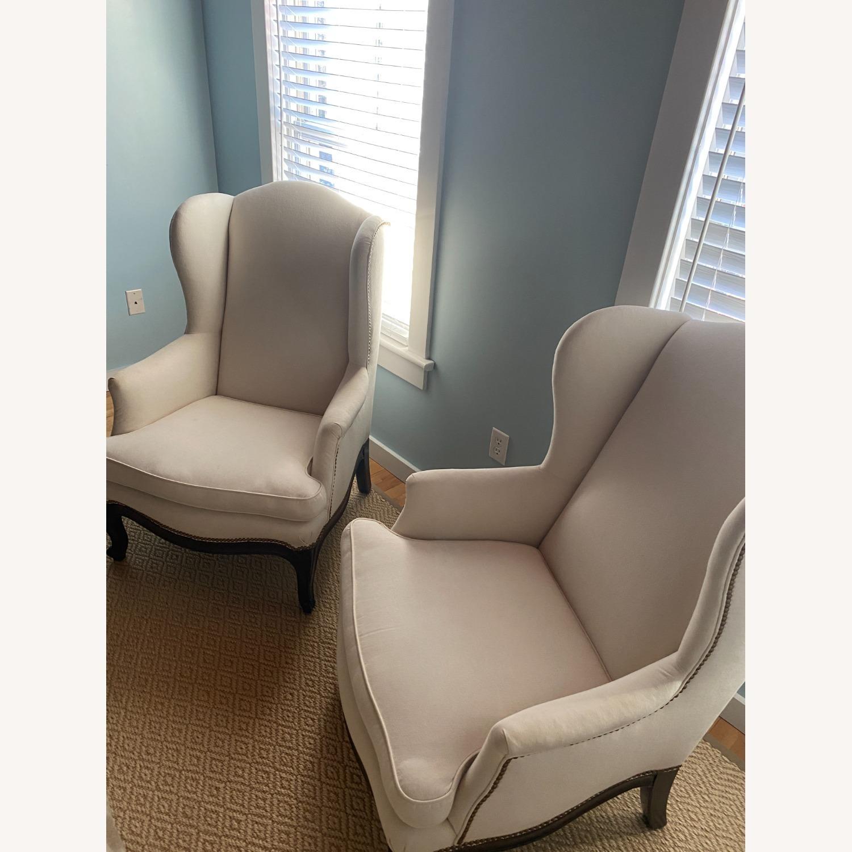 Vintage Wingback Armchair - image-3