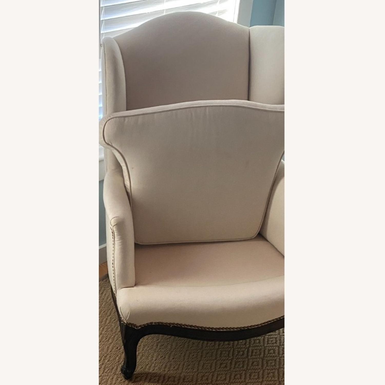 Vintage Wingback Armchair - image-6