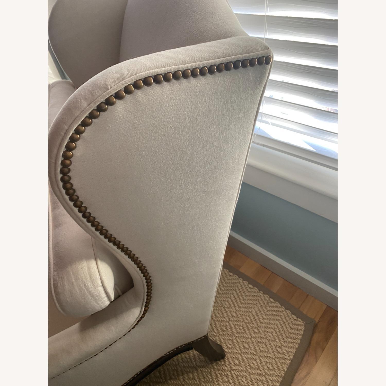 Vintage Wingback Armchair - image-5