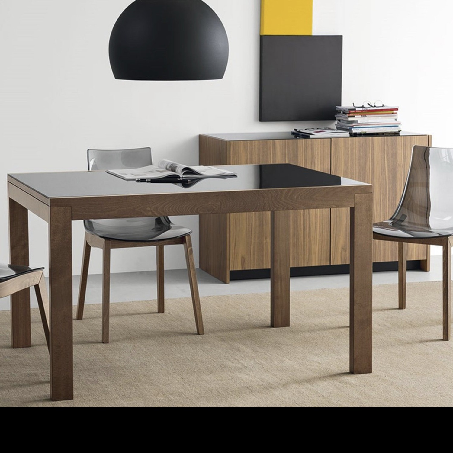 Calligaris Extendable Dining Table - image-3