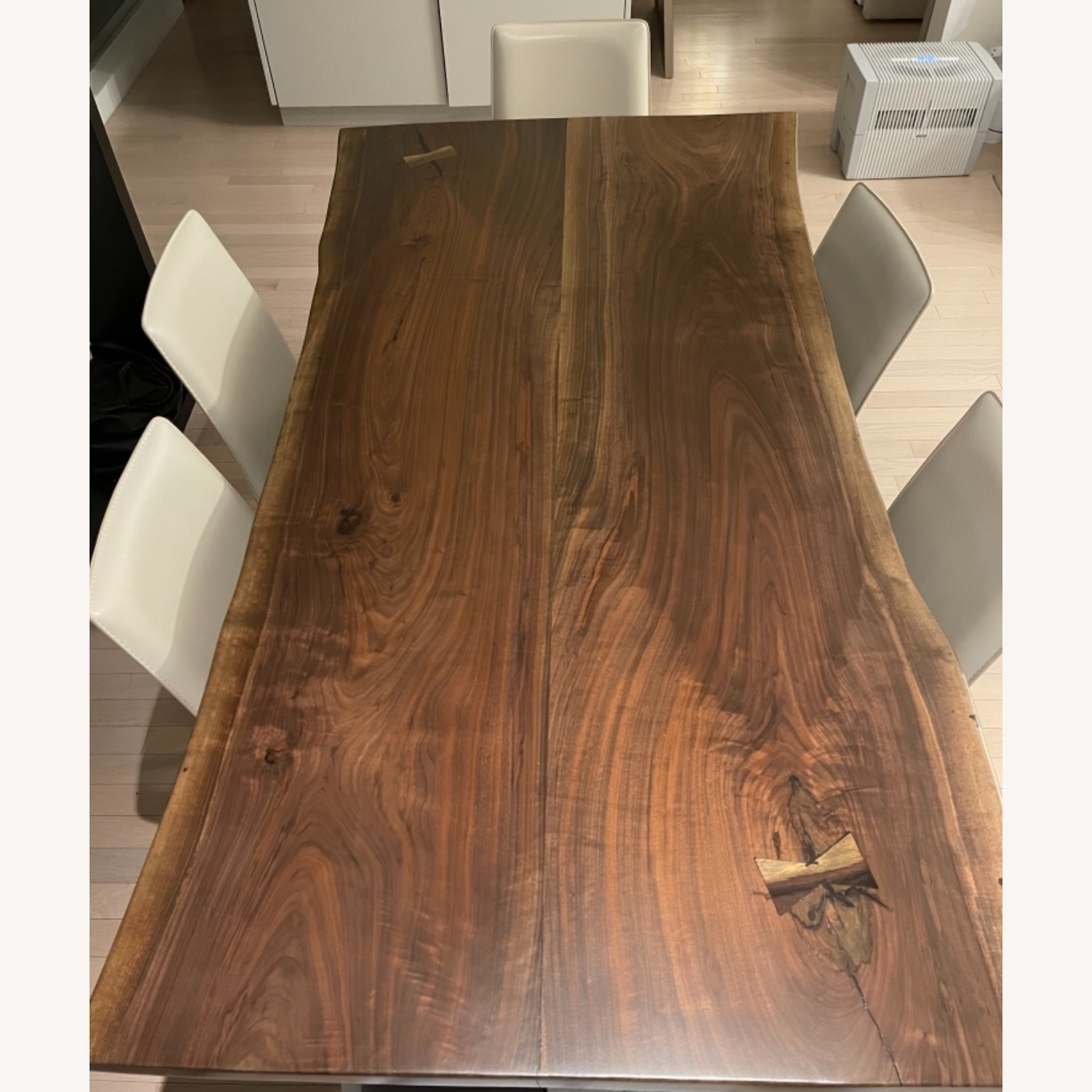 From the Source: Black Walnut Live Edge Slab Table - image-3