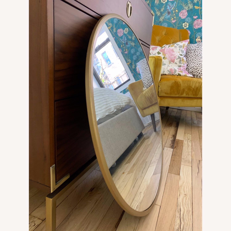 Round Gold Mirror - image-3
