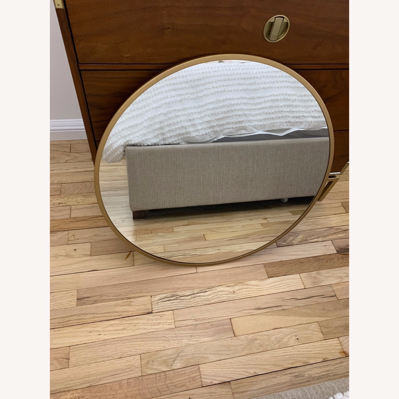 Round Gold Mirror - image-2
