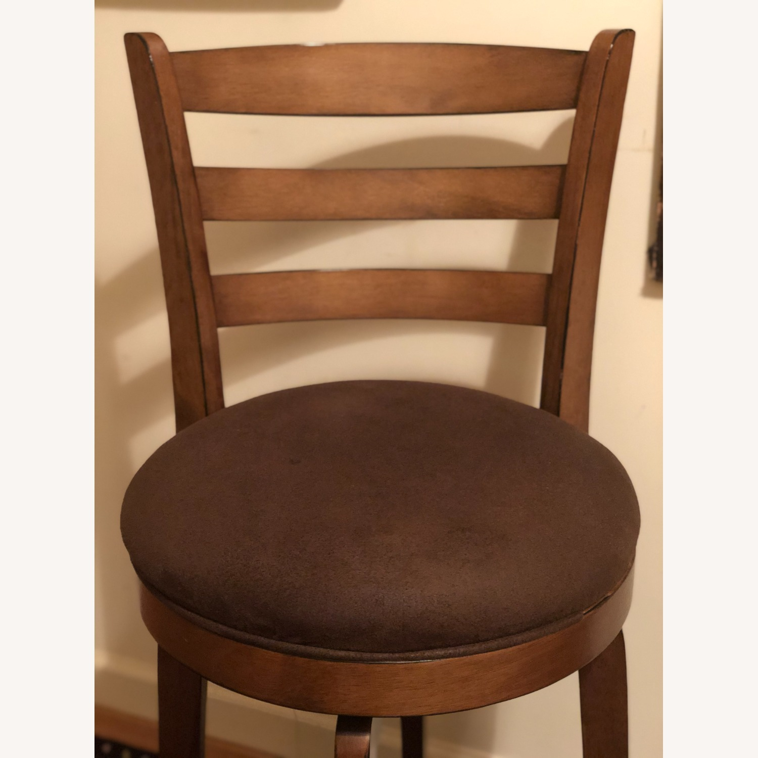 Bed Bath & Beyond Brown Swivel Counter Stool - image-3