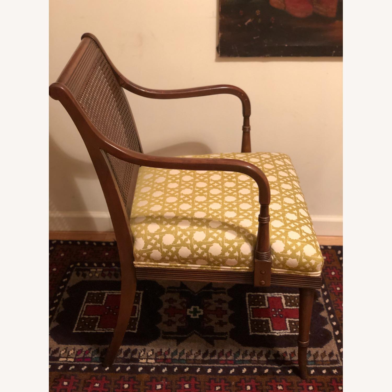 Wood and Rattan Armchair - image-15