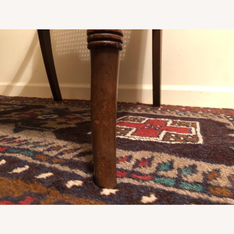 Wood and Rattan Armchair - image-7