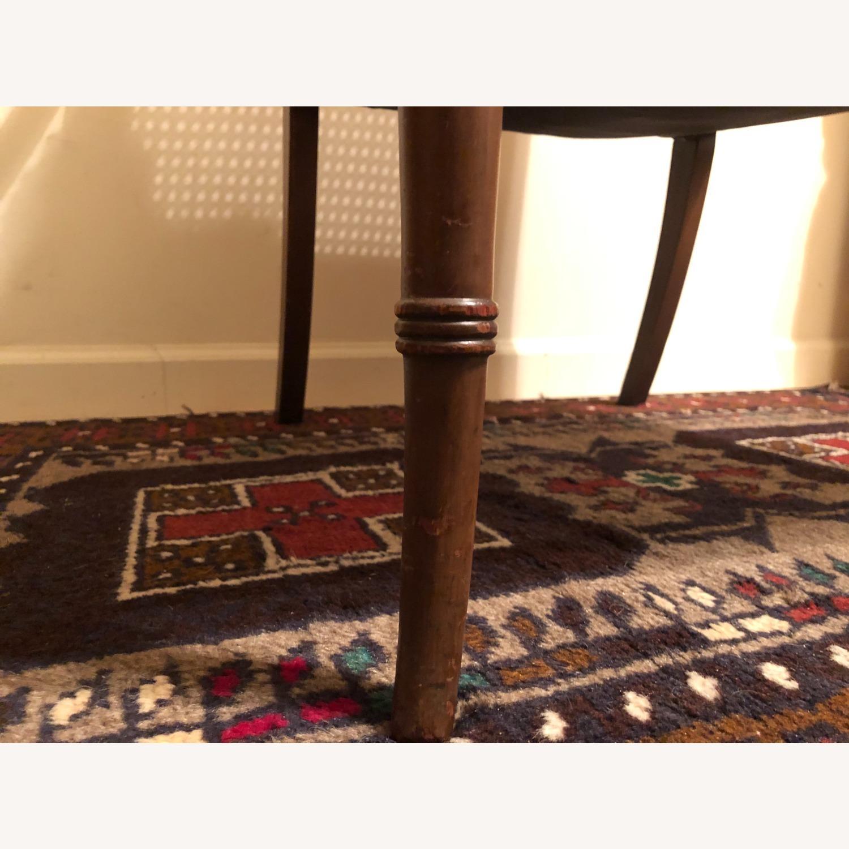 Wood and Rattan Armchair - image-8