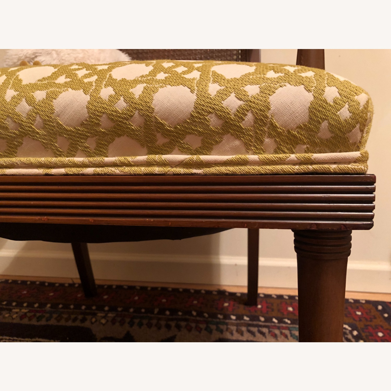 Wood and Rattan Armchair - image-10