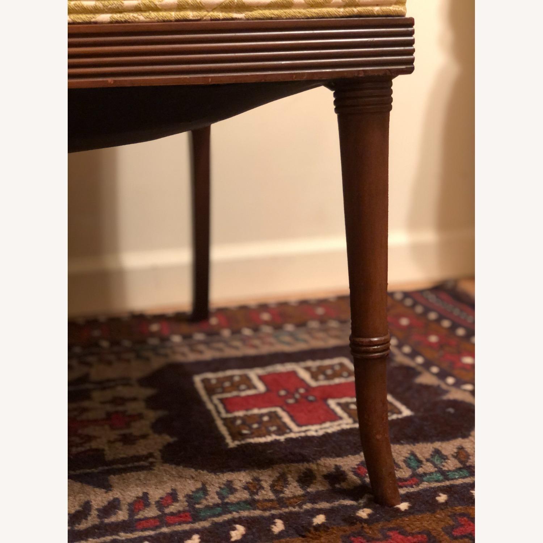 Wood and Rattan Armchair - image-6
