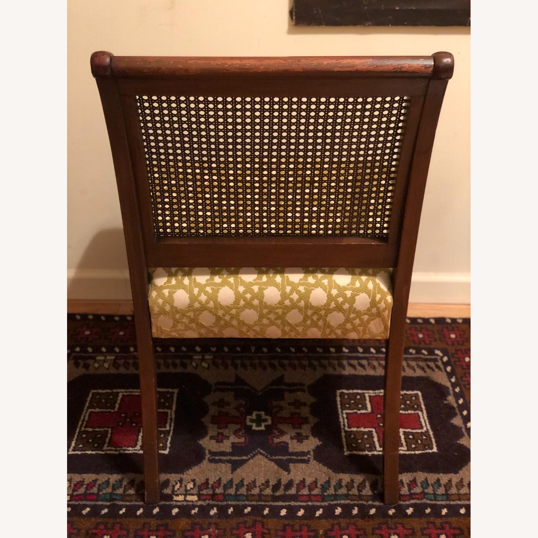 Wood and Rattan Armchair - image-14