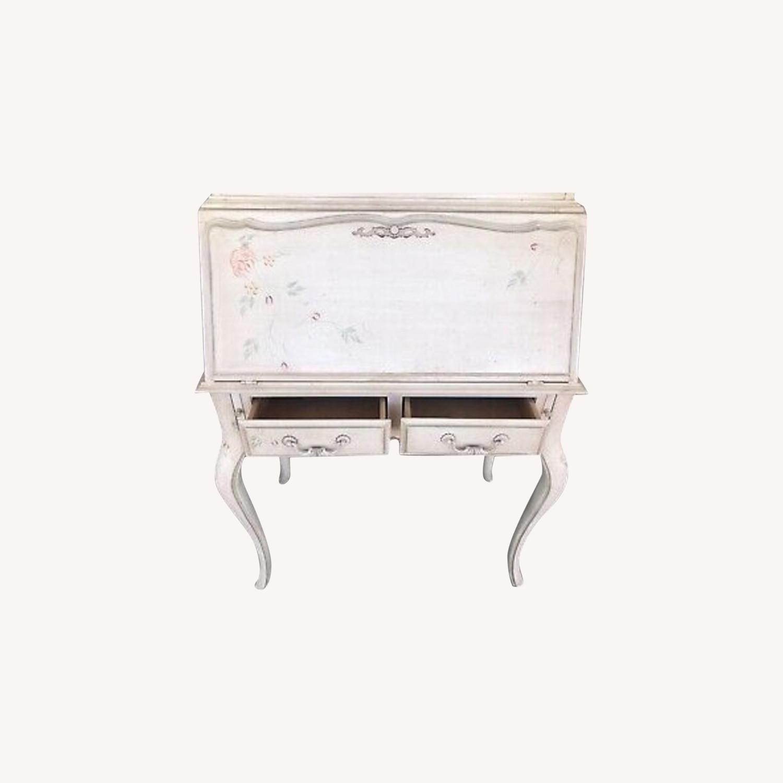 Ethan Allen Hand Painted Secretary Desk - image-0