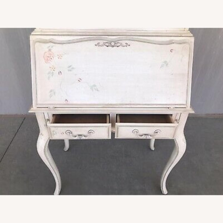 Ethan Allen Hand Painted Secretary Desk - image-1