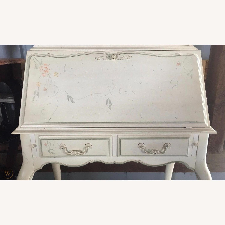 Ethan Allen Hand Painted Secretary Desk - image-2