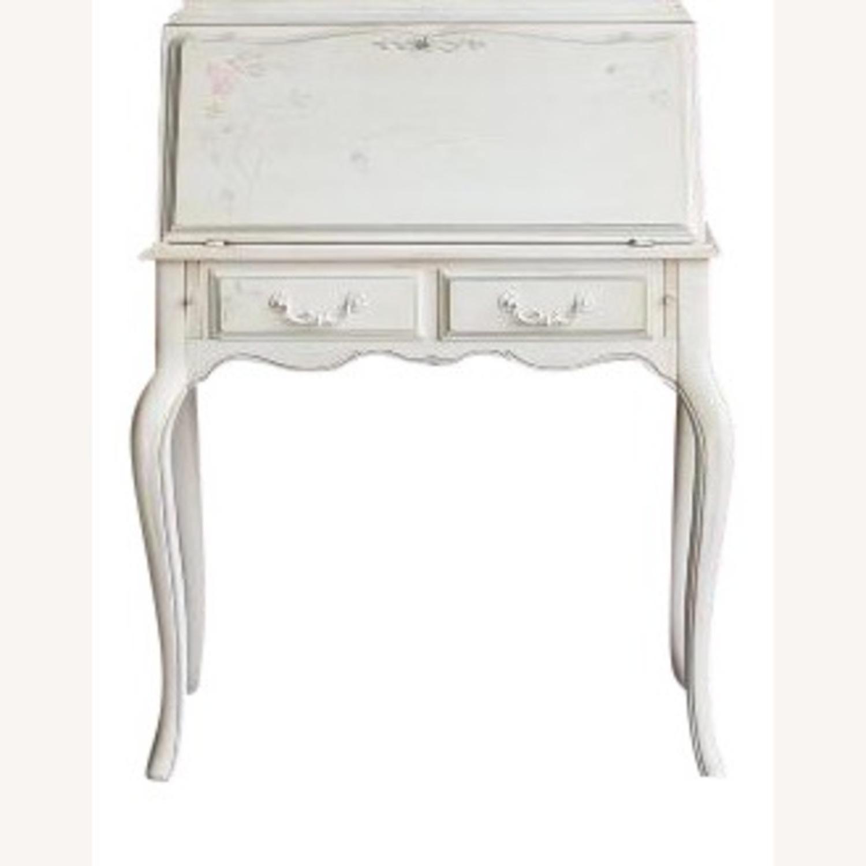 Ethan Allen Hand Painted Secretary Desk - image-4