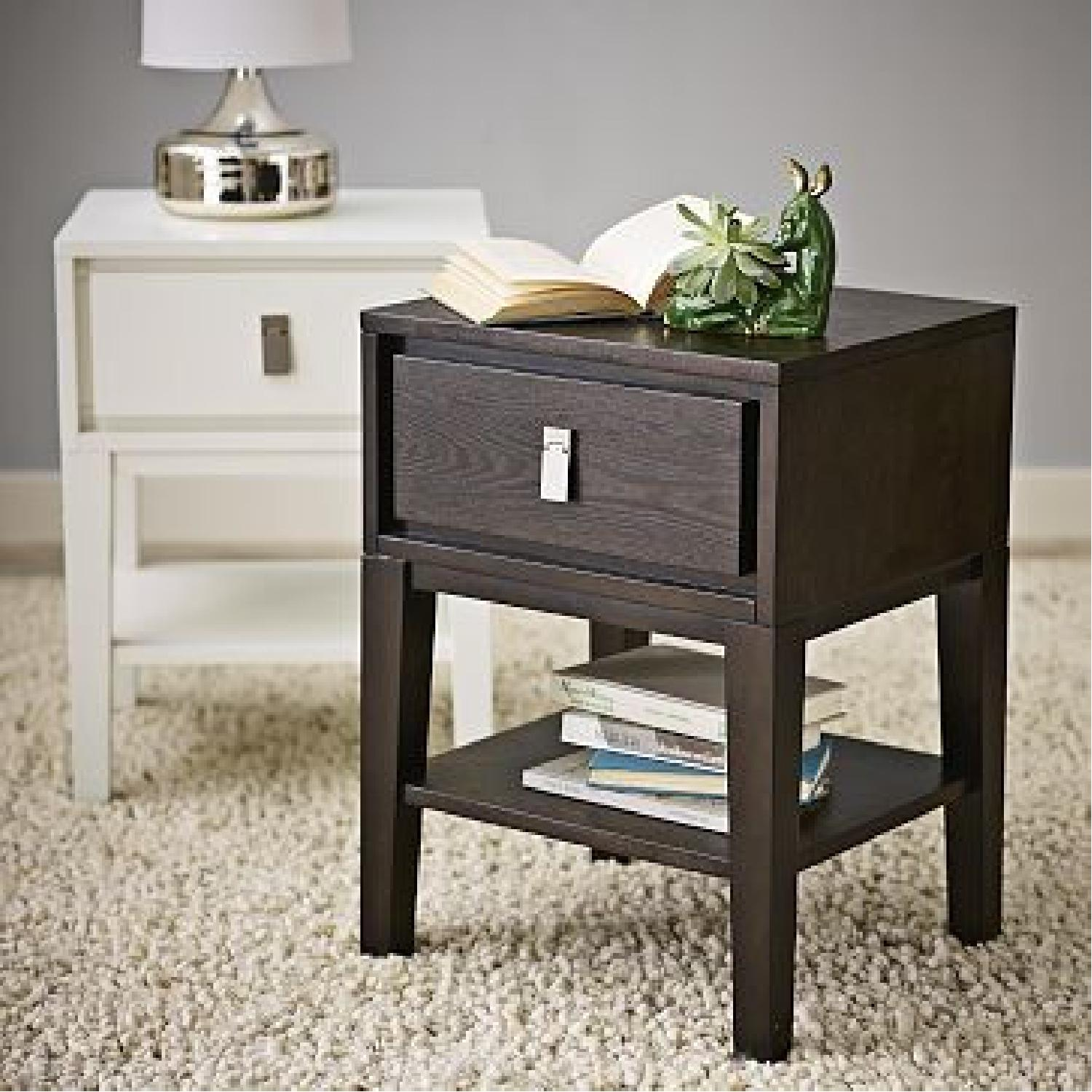 West Elm Niche Nightstand Small Chocolate - image-6