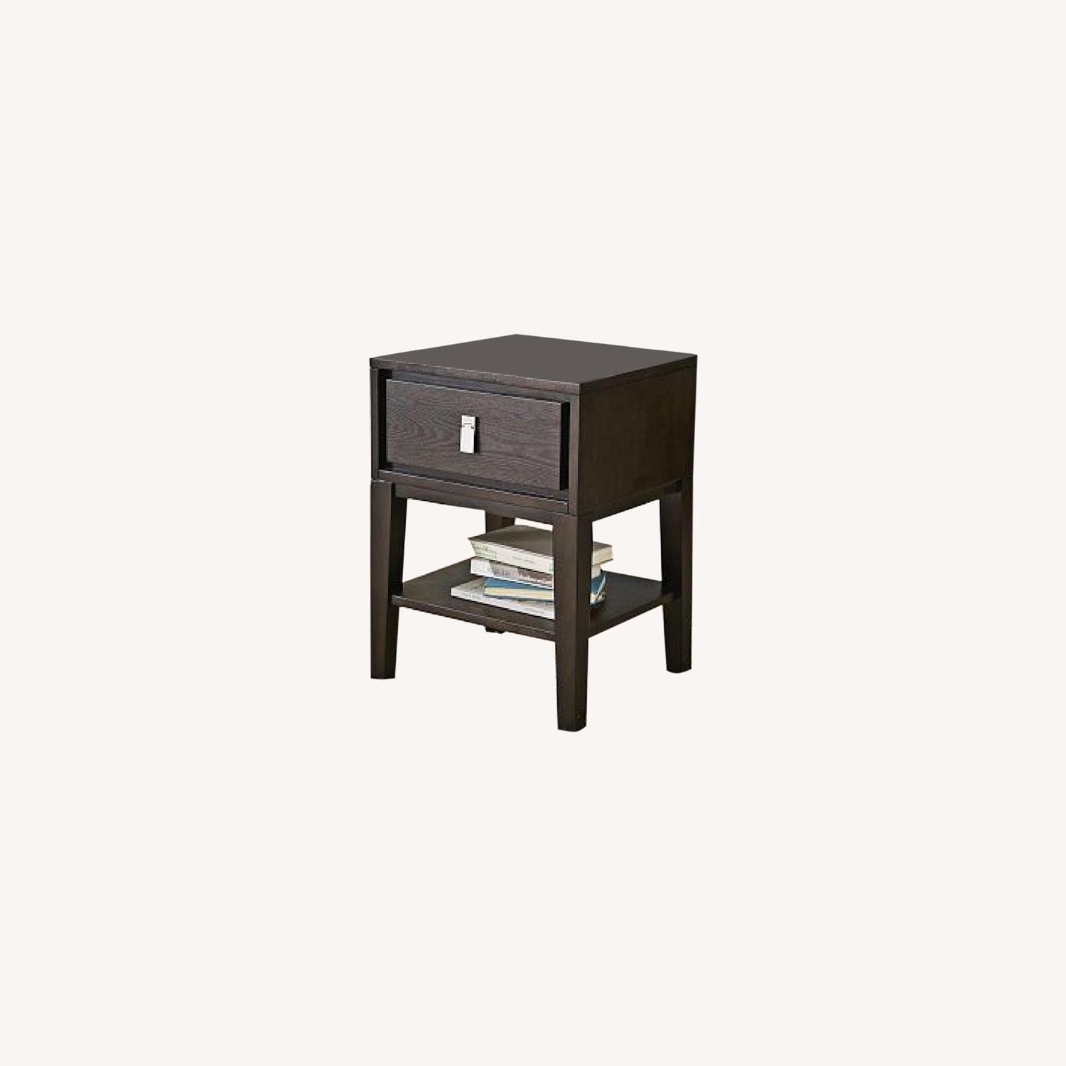 West Elm Niche Nightstand Small Chocolate - image-0