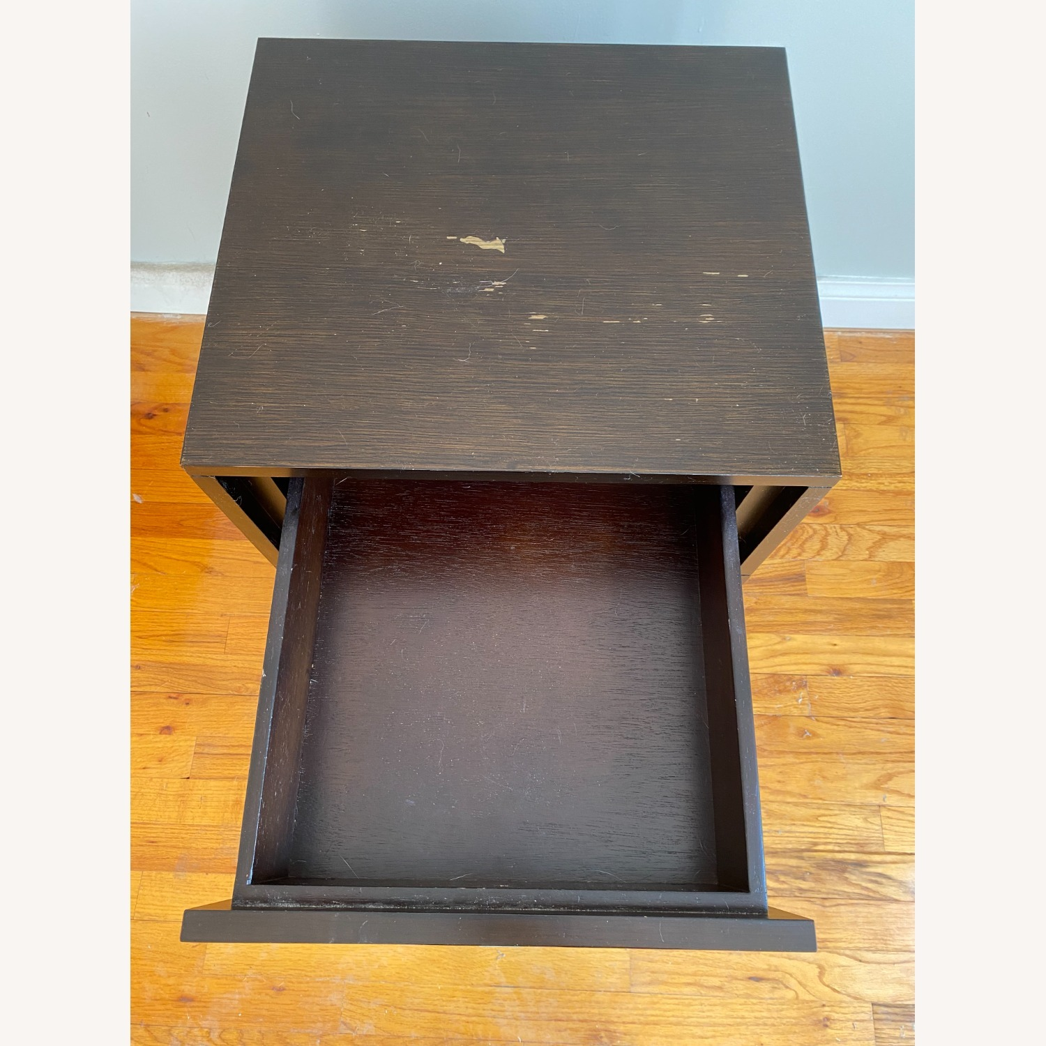 West Elm Niche Nightstand Small Chocolate - image-3