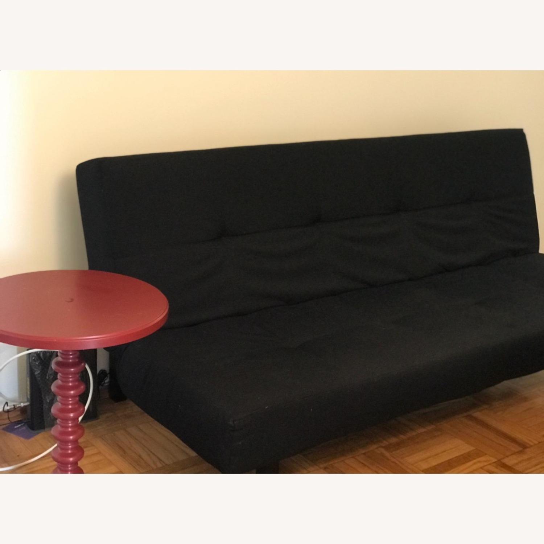 IKEA BALKARP Sleeper sofa, Knisa black - image-5