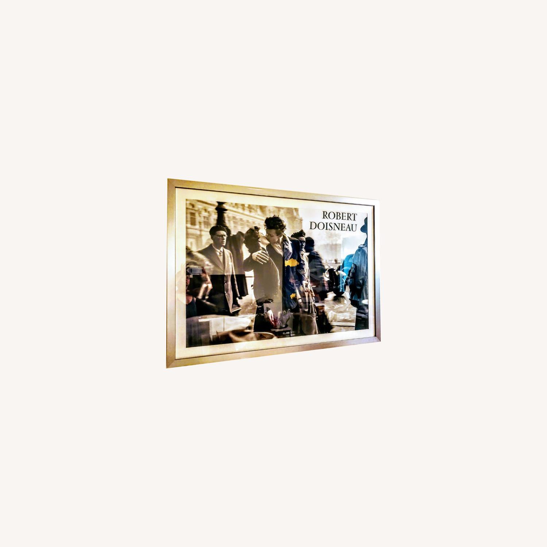 Huge Robert Doisneau's Poster Silver Framed - image-4