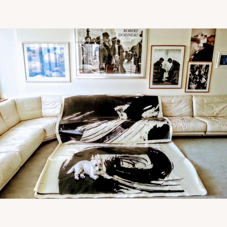 Huge Robert Doisneau's Poster Silver Framed - image-1