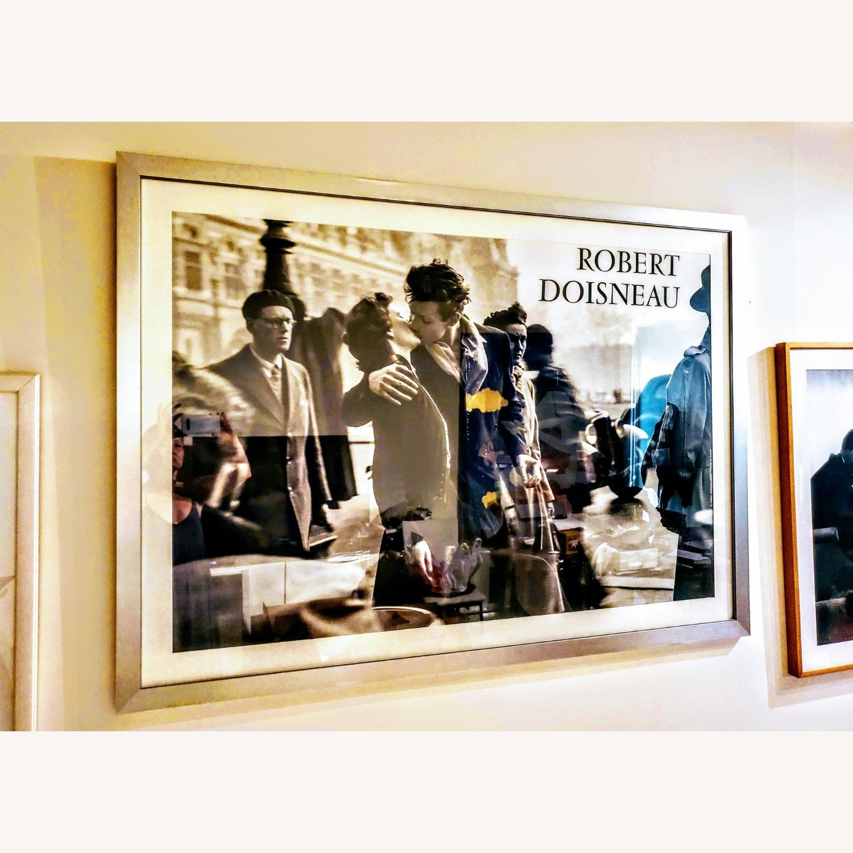 Huge Robert Doisneau's Poster Silver Framed - image-0