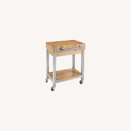 Used Boos Butcher Block Kitchen Cart for sale on AptDeco