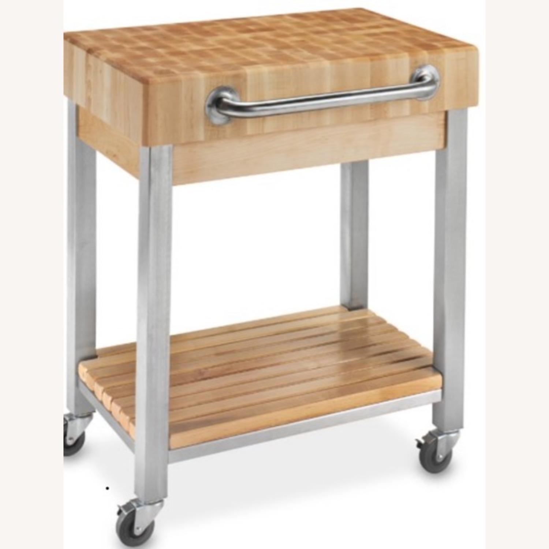 Boos Butcher Block Kitchen Cart - image-2