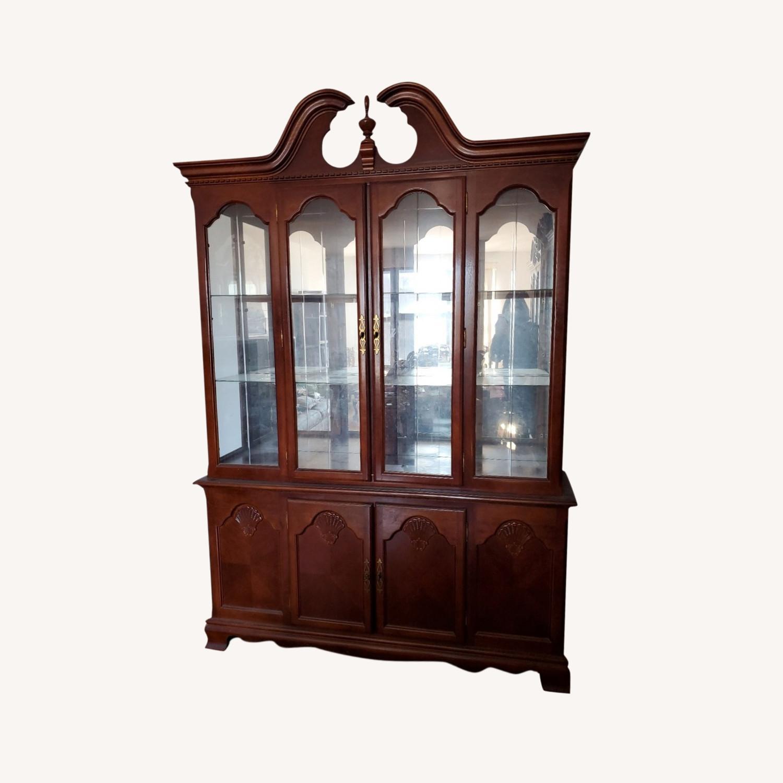 Wooden China Display - image-0