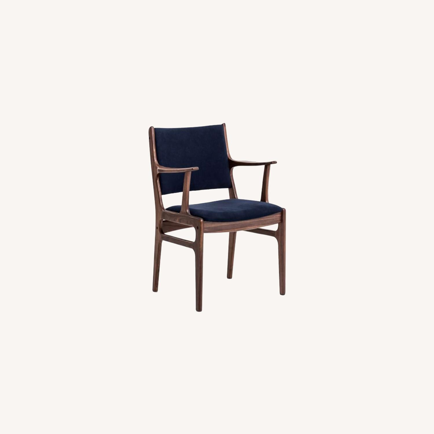 West Elm Coppice Upholstered Armchair - image-0