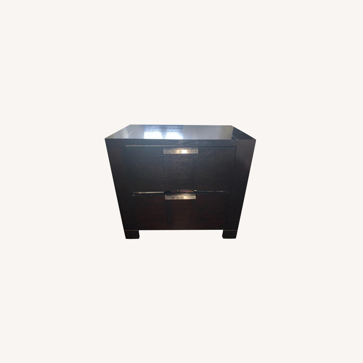 Bob's Discount Furniture Espresso Nightstand - image-0