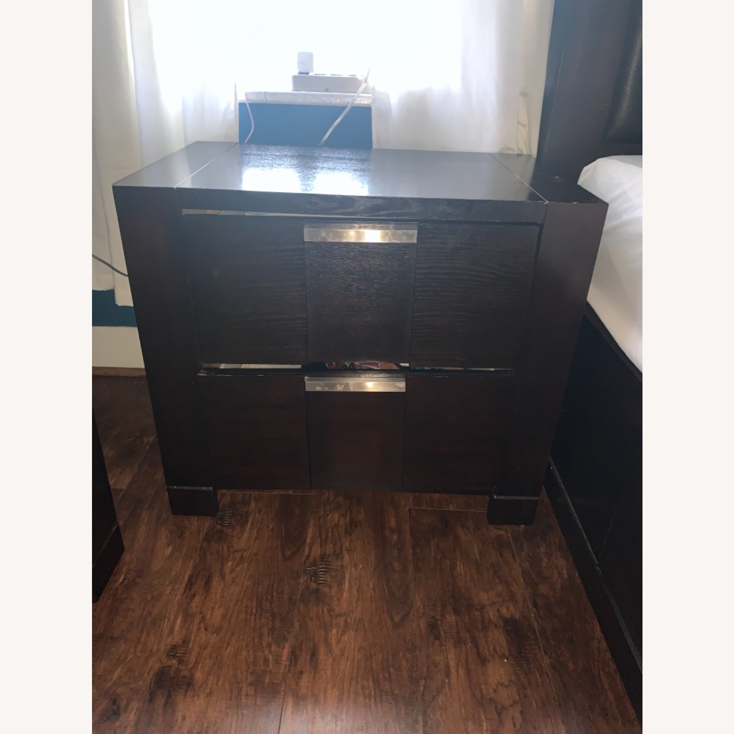 Bob's Discount Furniture Espresso Nightstand - image-1