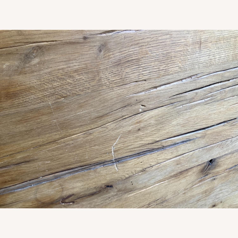 Restoration Hardware Reclaimed Russian Oak Table - image-8