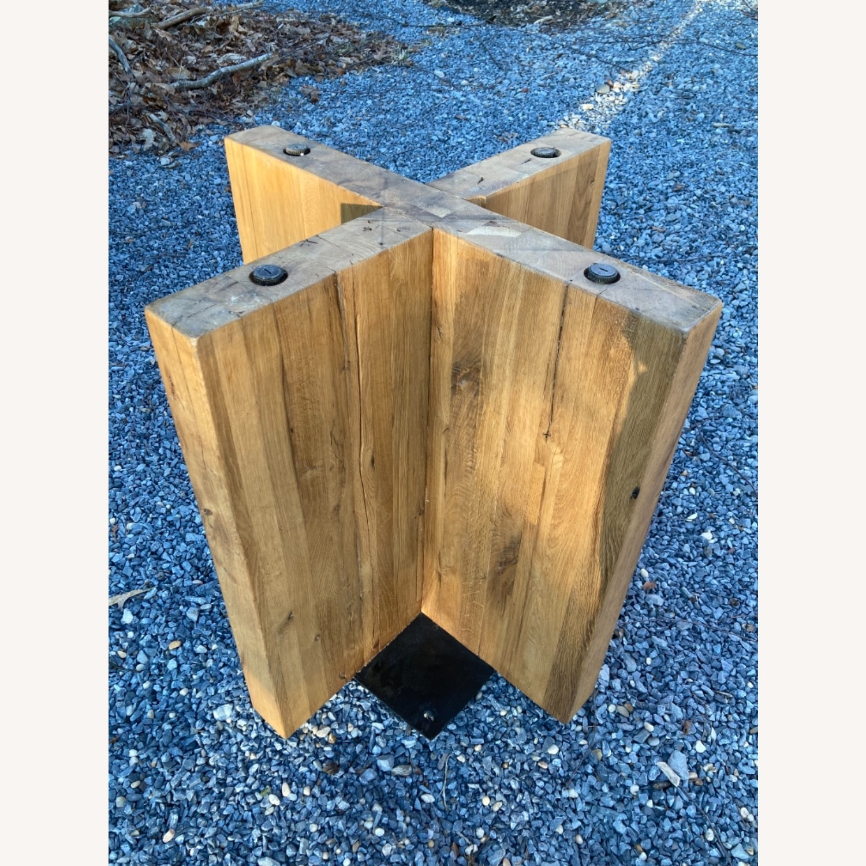 Restoration Hardware Reclaimed Russian Oak Table - image-14