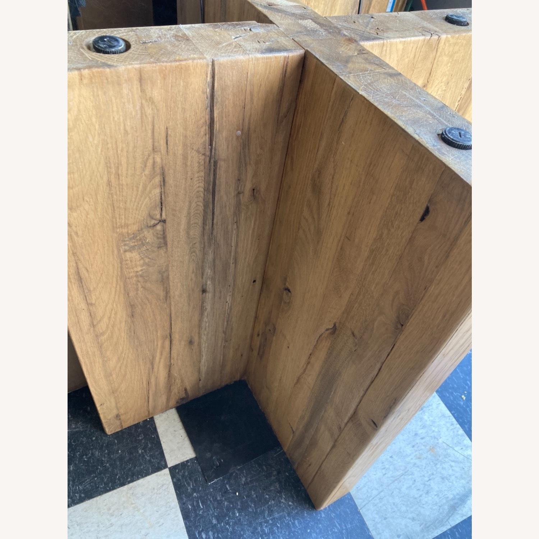 Restoration Hardware Reclaimed Russian Oak Table - image-10