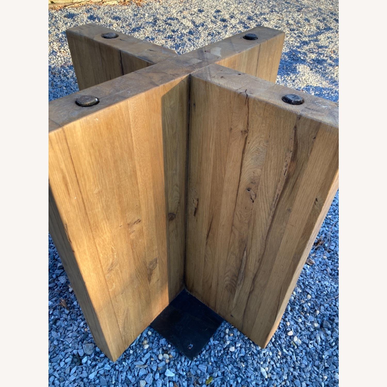 Restoration Hardware Reclaimed Russian Oak Table - image-15