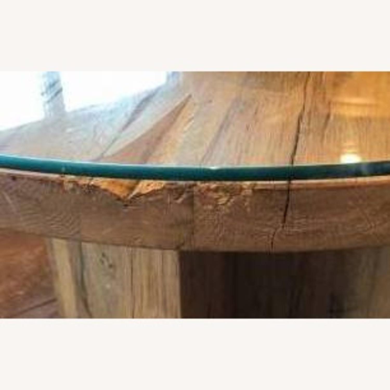 Restoration Hardware Reclaimed Russian Oak Table - image-7
