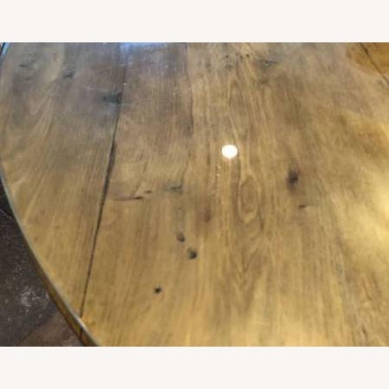 Restoration Hardware Reclaimed Russian Oak Table - image-6