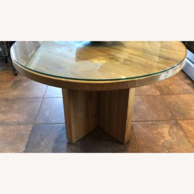 Restoration Hardware Reclaimed Russian Oak Table - image-4