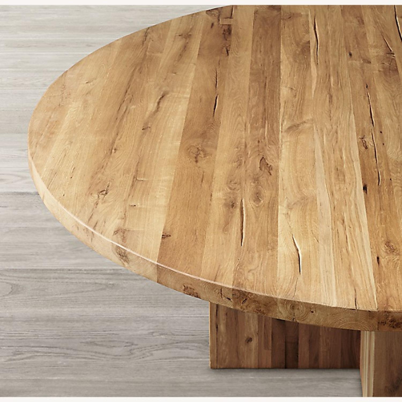 Restoration Hardware Reclaimed Russian Oak Table - image-1