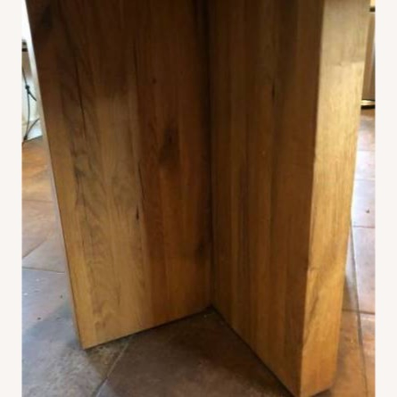 Restoration Hardware Reclaimed Russian Oak Table - image-3