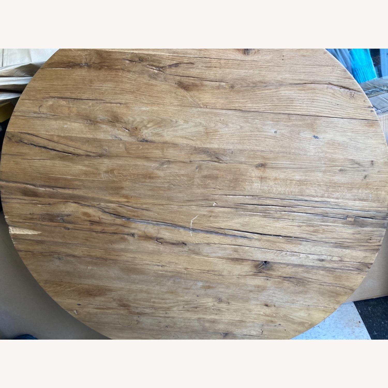 Restoration Hardware Reclaimed Russian Oak Table - image-9